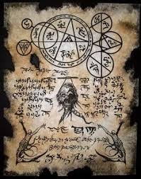 cthulhu larp necromancers dark art necronomicon occult magick zombie horror old book pagesold