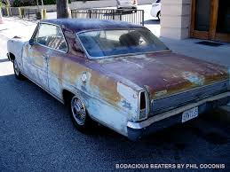 BODACIOUS BEATERS (and road-going derelicts): CHEVY II FADED - The ...
