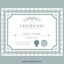 Free Sample Diploma Certificate Template In Ms Word Publisher For ...