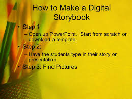 Story Book Powerpoint Template Creating Digital Storybooks Ppt Video Online Download