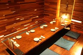 Traditional Japanese dining experience served tableside, or Sushi Bar,  where you will