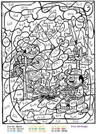 Small Picture Coloring Pages For Kids Online Difficult Color By Number New On