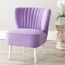 purple accent furniture. Safavieh Morgan Lavender Cotton Blend Accent Chair Purple Furniture