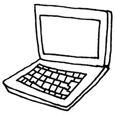 ノートパソコンのフリーイラスト フリーイラストクラシック