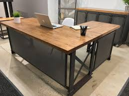 furniture office l shaped desk rustic design diy ideas as wells furniture glamorous picture designs