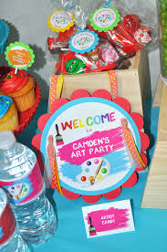 artist party door sign painting party welcome sign artist