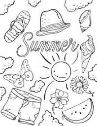 Small Picture Summer Coloring Pages Family and Kids summer colouring pages