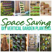 diy projects space saving diy vertical garden planters tutorials diy proejcts