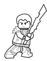 Lego Ninjago Movie Color Pages Coloring Page Coloring Pages Jay