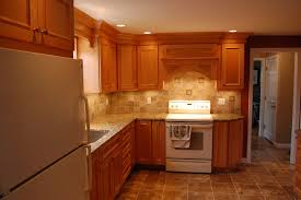 maple cabinets granite countertop