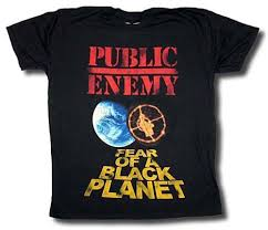 Public Enemy T Shirt Fear Of A Black Planet Distressed Authentic M 234xl H009 2018 High Quality Brand Men T Shirt Casual Short Sleeve