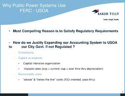 Ferc Chart Of Accounts Ppt Basic Concepts In Ferc And Utility Accounting Appa