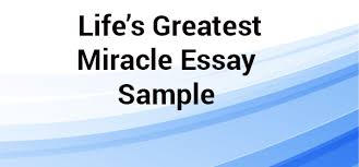 life s greatest miracle essay sample net blog for centuries people have been trying to unravel a conundrum of life we know how a person is born what biological processes are involved in life and how
