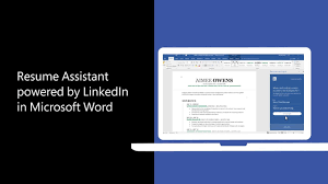 Linked In Resume Resume Assistant Brings The Power Of LinkedIn To Word To Help You 29