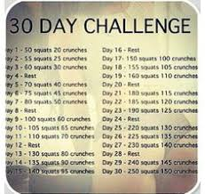 30 day excercise ball challenge challenge yourself to a 30 day workout fitness