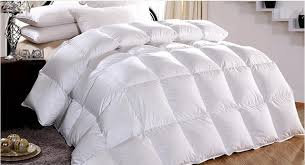 Duvet filled White Goose feather & down tog value 4.5 for summer ... & Duvet filled White Goose feather & down tog value 4.5 for summer 150 gsm UK  King Adamdwight.com
