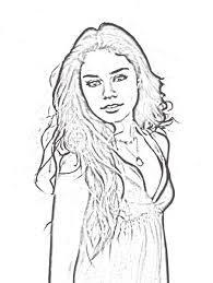 Small Picture High School Musical 2 Coloring Pages