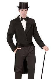... Mens Black Tailcoat Victorian Edwardian Fancy Dress Costume Coat S M L  XL NEW ...
