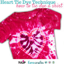 Tie Dye Patterns Heart