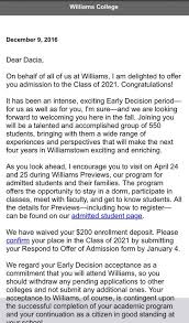 Official Notification Letters For Class Of 2021 Ephblog