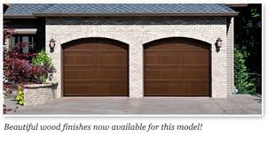 walnut garage doorsDoorlink 3640 Model Garage Door