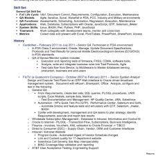 Resume For Testing Jobs Sample Qa Tester Resume Shalomhouseus 18