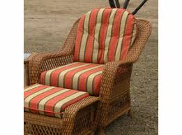 Majestic Design Wicker Chair Cushions Outdoor Multicolored Floral