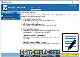 Resumemaker Professional Deluxe 20 1 0 120 Free Download