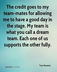 One Team One Dream Quotes Best of Tom Boonen Quotes QuoteHD