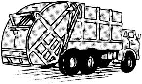 Small Picture Driving Garbage Truck Coloring Pages Download Print Online