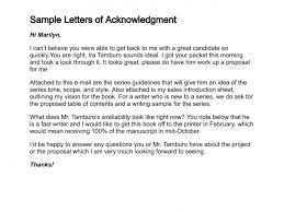 Business Letter Acknowledgement Resume Pdf Download