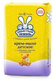 Купить Крем-<b>мыло</b> детское «Ушастый нянь» с <b>экстрактом</b> ...