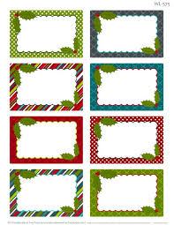 Christmas Template For Word Unique Template Word Tags For Christmas Fun For Christmas