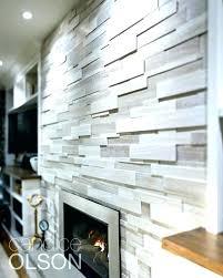 modern tiled fireplace surround ideas modern fireplace