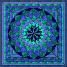 312 best Stained Glass Quilt images on Pinterest | Mandalas, Clay ... & Looks like a stained glass window, but it is a quilt! Adamdwight.com