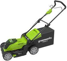 <b>Газонокосилка аккумуляторная Greenworks 40V</b>, 40 см, 40Вт ...