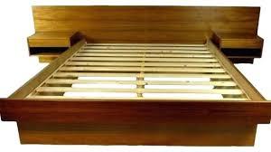 modern platform bed king. Modern Platform Beds King Mid Century Bed Home Design Ideas
