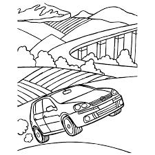 Kleurplaten Golf Auto Brekelmansadviesgroep