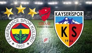 Fenerbahçe-Kayserispor maçı ne zaman, hangi kanalda, saat ...