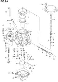1999 suzuki quadrunner 2wd lt f250 oem parts babbitts suzuki carburetor model y k1