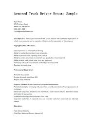 Forklift Operator Resume Objective Examples Sample Breathelight Co