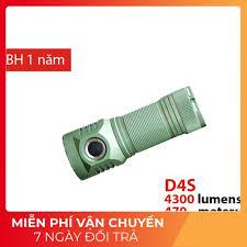SIÊU SÁNG] Đèn pin EMISAR D4S độ sáng 4322lm , chiếu xa 470m sử dụng 1 pin  26650