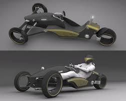 Resultado de imagem para three wheeled car concept