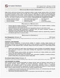 Entry Level Management Resume Examples Wealth Management Resume Unique Entry Level Management
