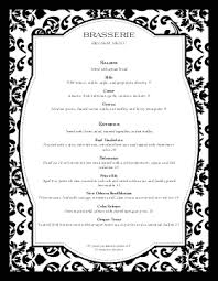 Fancy Restaurant Menu Fine Restaurant Dining Menu Fine Dining Menu Dining Menu