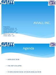 Aviall | Enterprise Resource Planning | Inventory
