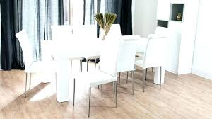 white gloss dining table and chairs white gloss kitchen table and chairs round white dining table