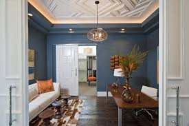 lighting for home office. cove lighting detail home office contemporary with floral arrangement dark floor for