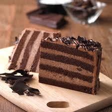 chocolate fudge cake slice. Beautiful Chocolate Chocolate Fudge  Slice And Cake 1