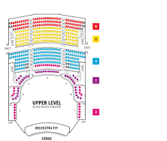 Ellen Theater Seating Chart Utah Festival View From Your Seat